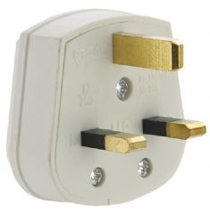 CRABTREE GB6:7222/WH  Plug Resilient Safety 13A White